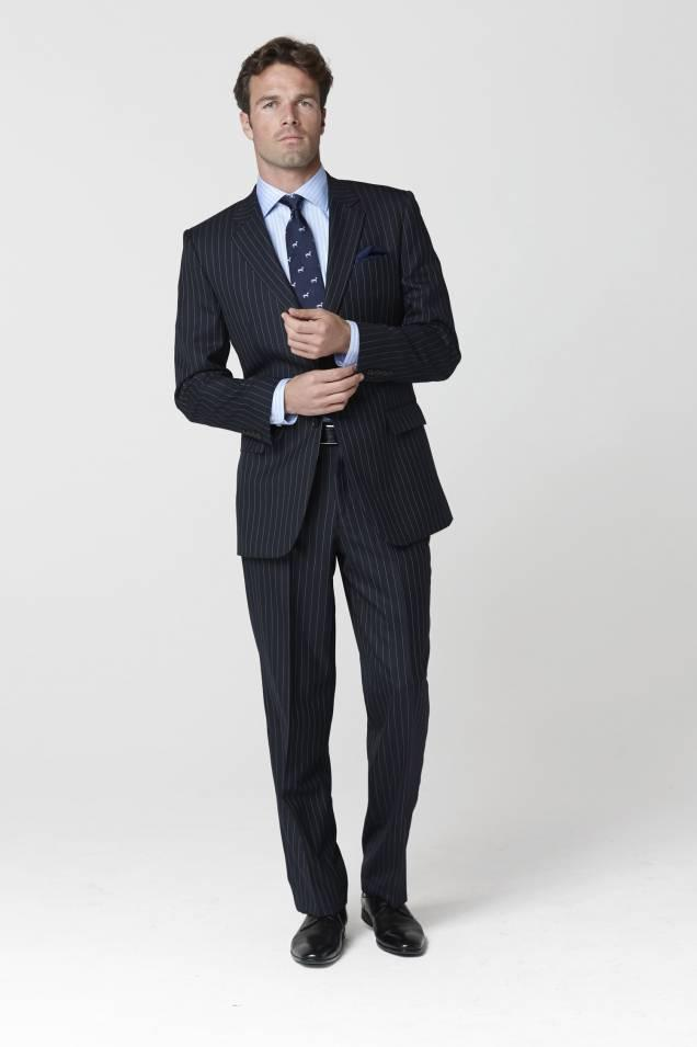 James Bond Suit inspired Epsom Single Breasted Suit