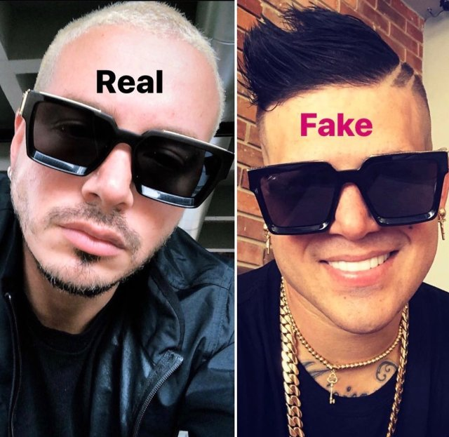 Stylish Fake Glasses for Men - real vs fake