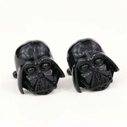 Cufflinks Darth Vader in Black Color Star Wars