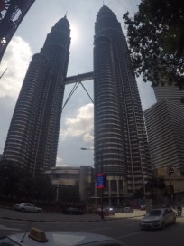 Petronas Towers upclose