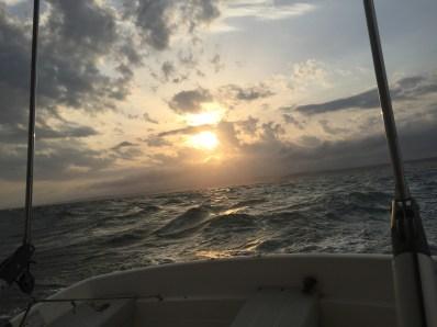 Sunrise at Royan 6th July 2017