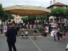 F3. Big band in the market place - StJean de Luz 14.7.17.