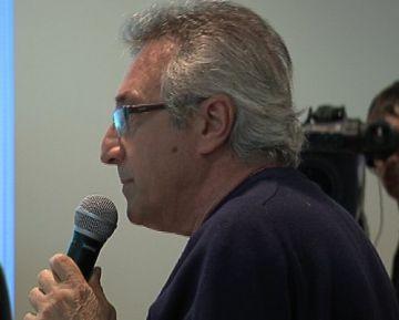 Victor Alexandre, durant la intervenció al ple
