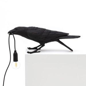Bird Lamp Playing black Seletti