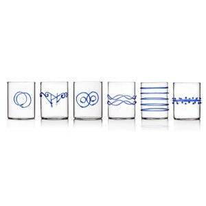 Set DECO acqua blu