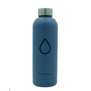 Bottiglia termica Drop grey CU | SEEYOU