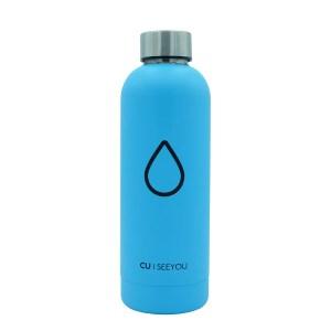 Bottiglia termica Drop light blue CU | SEEYOU