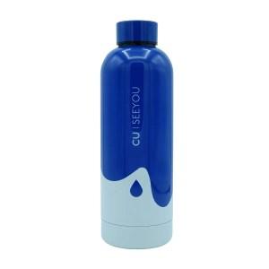 Bottiglia termica Ocean Drop blue CU | SEEYOU