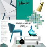 Decor Studio în Nuanțe de Acvamarin