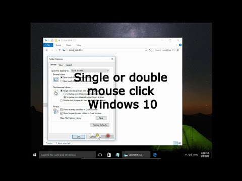 Open item by single Click