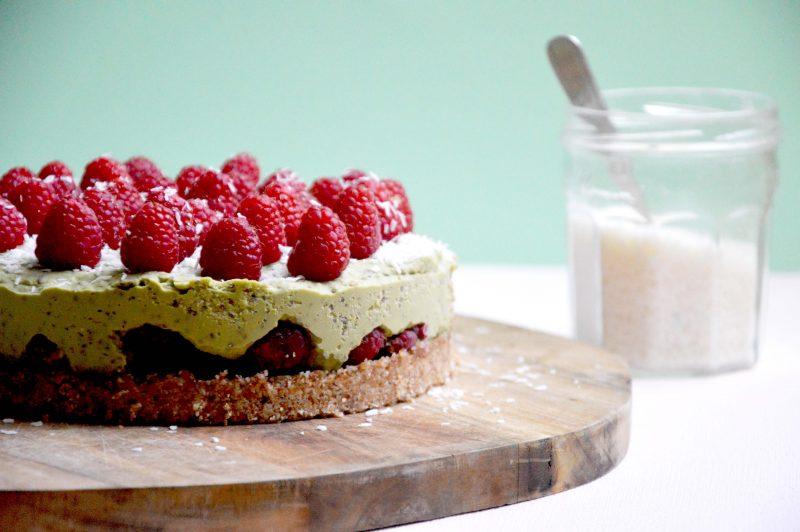 raw-cake-matcha-coco-framboise