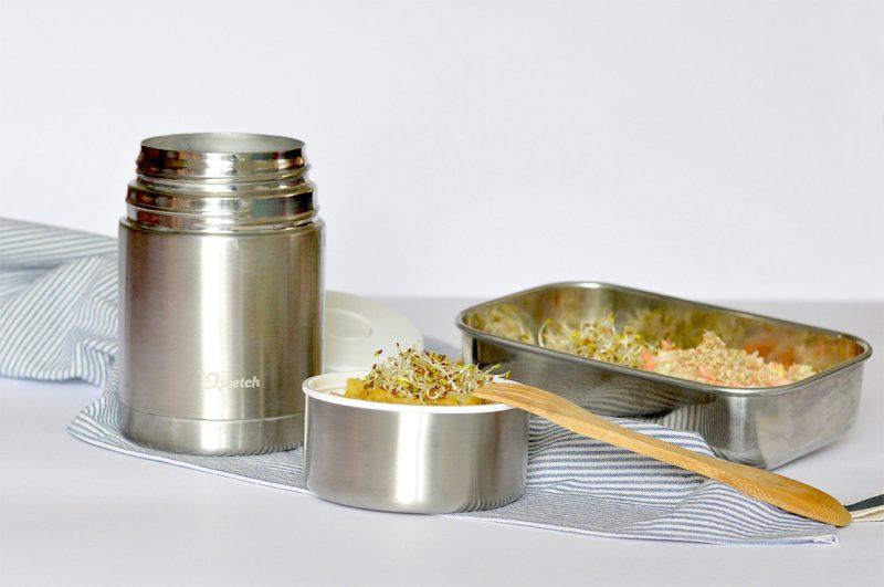lunch box saine pour un midi zero dechet zero micro onde. Black Bedroom Furniture Sets. Home Design Ideas