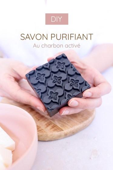 recette de savon au charbon