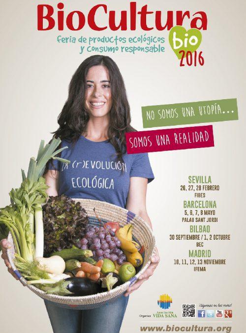 Feria BioCultura en Madrid. ¡No te la pierdas!