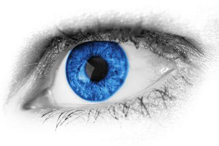 Resultat d'imatges de ojo azul
