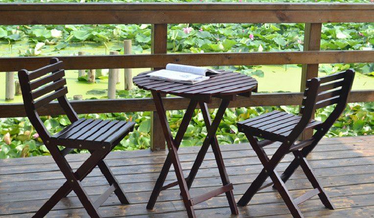 mesas y sillas de jardin para decorar