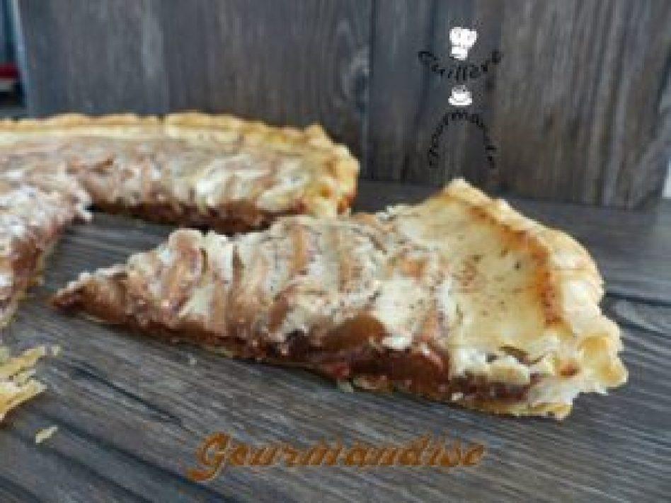 tarte-poire-chocolat