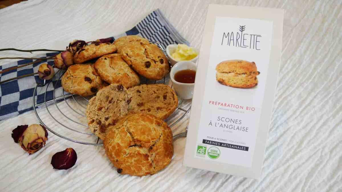 [Impression] Scones à l'anglaise de chez Marlette