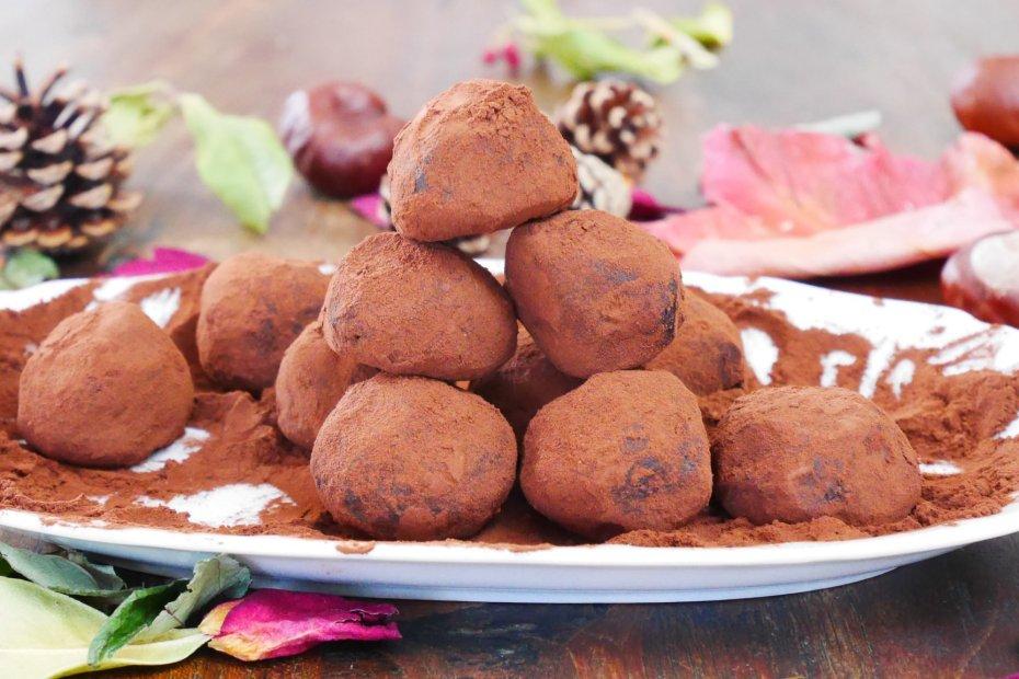 recette truffes au chocolat du livre simplissime