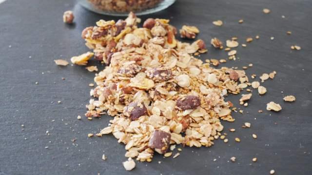 Granola maison à base de muesli Terres et céréales