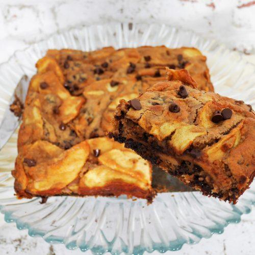 Gâteau invisible aux pommes et au chocolat