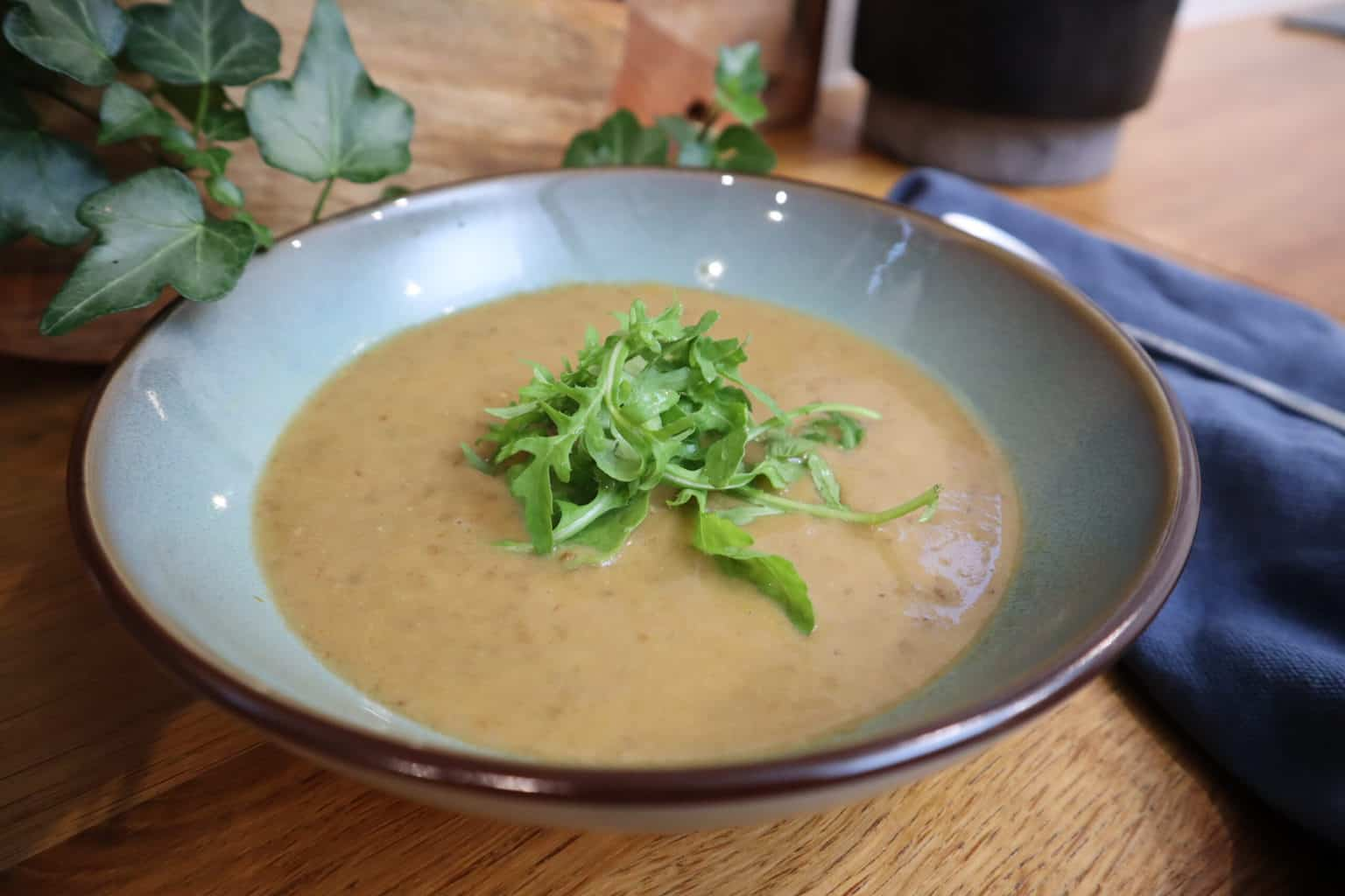 soupe de lentilles avec le multicuiseur silvercrest de lidl
