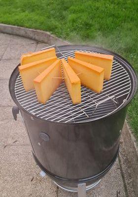 smokey mountain cooker 47 barbecue weber et comté fumé à froid 12 heures de fumage