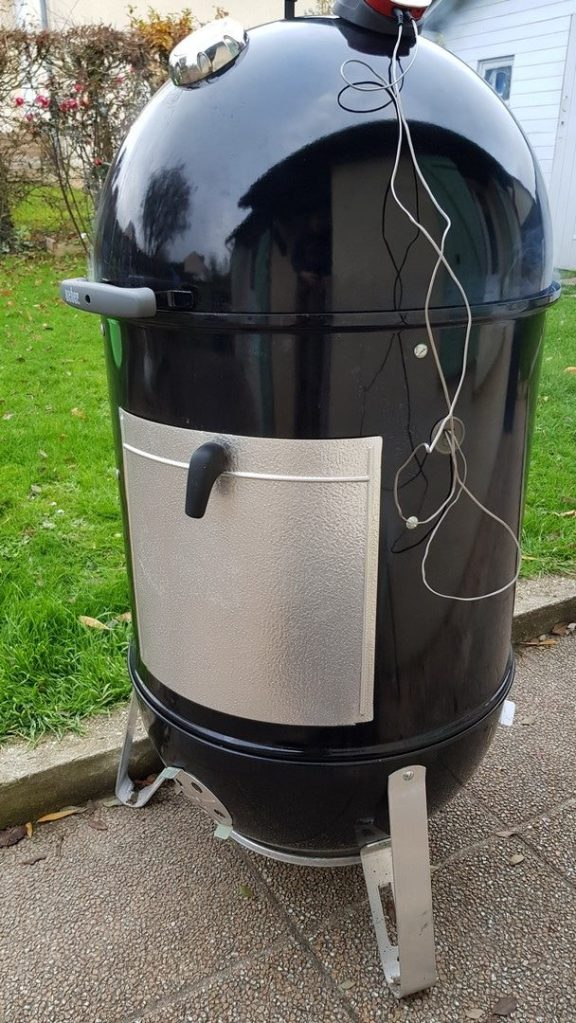 Fumoir Smokey Mountain Cooker 57cm barbecue weber