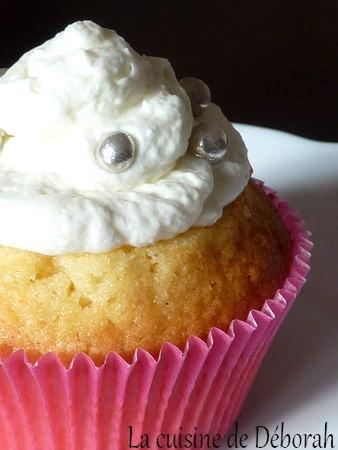 Cupcakes à la vanille   Cuisine de Deborah