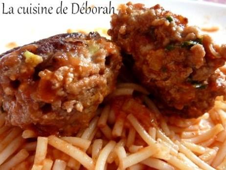 Boulettes de viande à l'ail des ours   Cuisine de Deborah