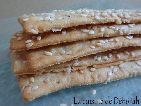 Crackers apéritifs   Cuisine de Deborah