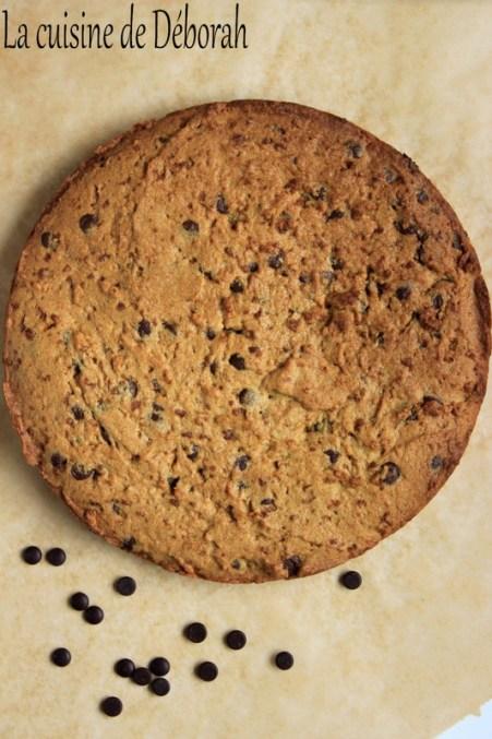 Cookies géant - La cuisine de Déborah