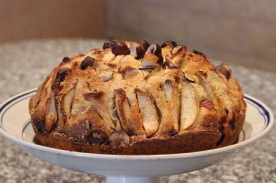 Gâteau pommes noisettes et cannelle - Cuisine de Deborah