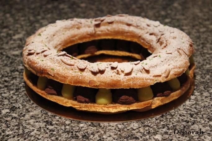 Paris-Brest chocolat gingembre citron vert  - Cuisine de Deborah