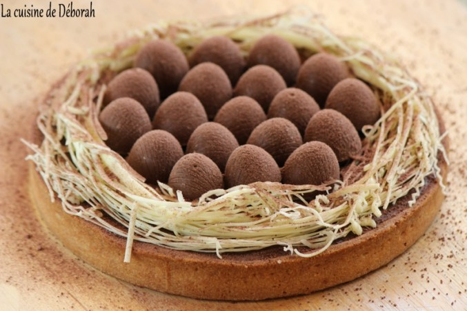 Tarte nid de Pâques - La cuisine de Déborah