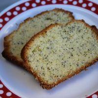 Cake aux fleurs de sureau citron et pavot