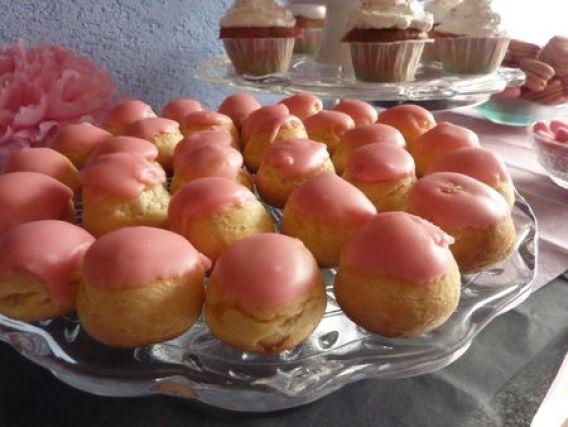Petits choux tout roses   - Cuisine de Deborah