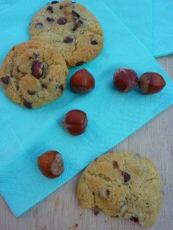 Cookies choco-noisettes  - Cuisine de Deborah