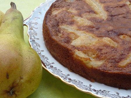 Gâteau aux poires - Cuisine de Deborah