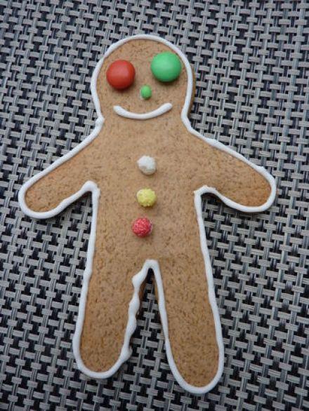 Gingerbread men  Cuisine de Deborah