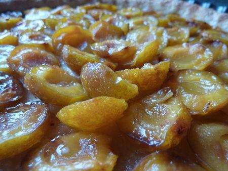 tarte aux mirabelles - Cuisine de Déborah