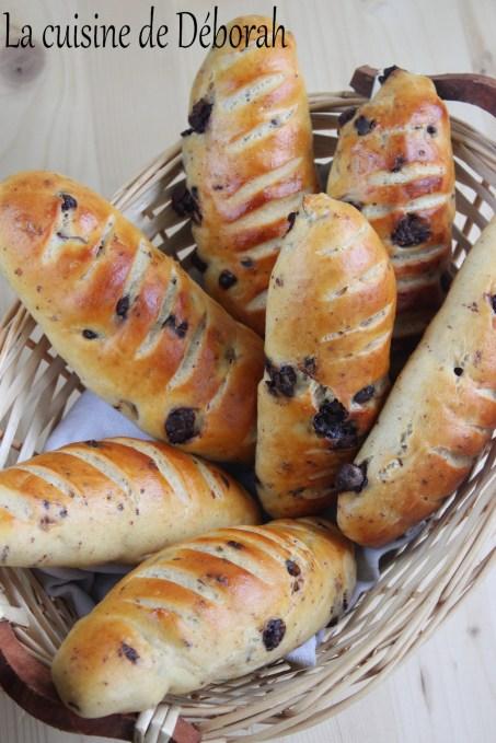 Petits pains aux noisettes et au chocolat Cuisine de Deborah