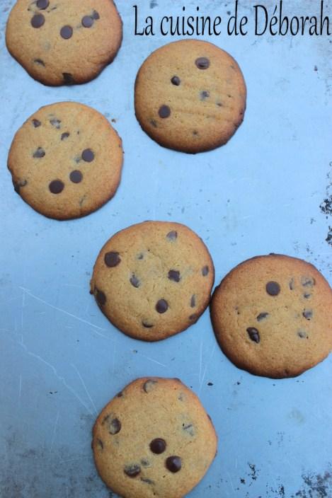 Cookies à la farine de pois chiches cuisine de deborah