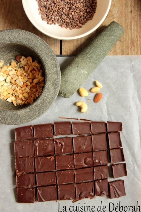 Fudge au chocolat sans produits laitiers cuisine de deborah