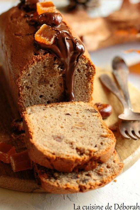 Cake aux châtaignes    cuisine de deborah