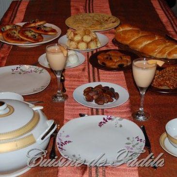 Table du ramadan