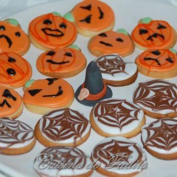 Biscuits d'Halloween ( Sugar Cookies)