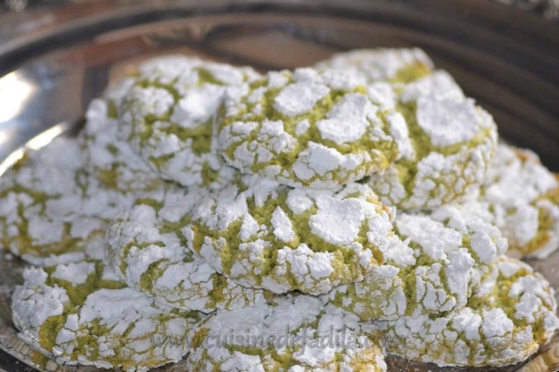 Gateaux marocains pistache