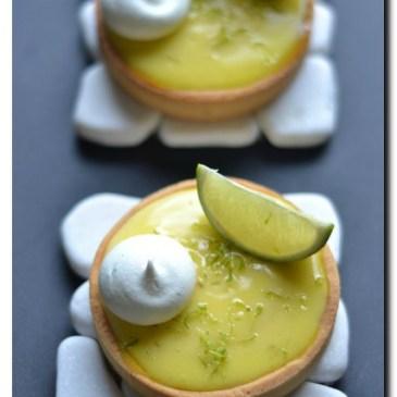 tartelettes au citron vert