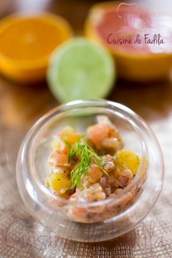 tartare de saumon aux agrumes et gingembre -0400-2
